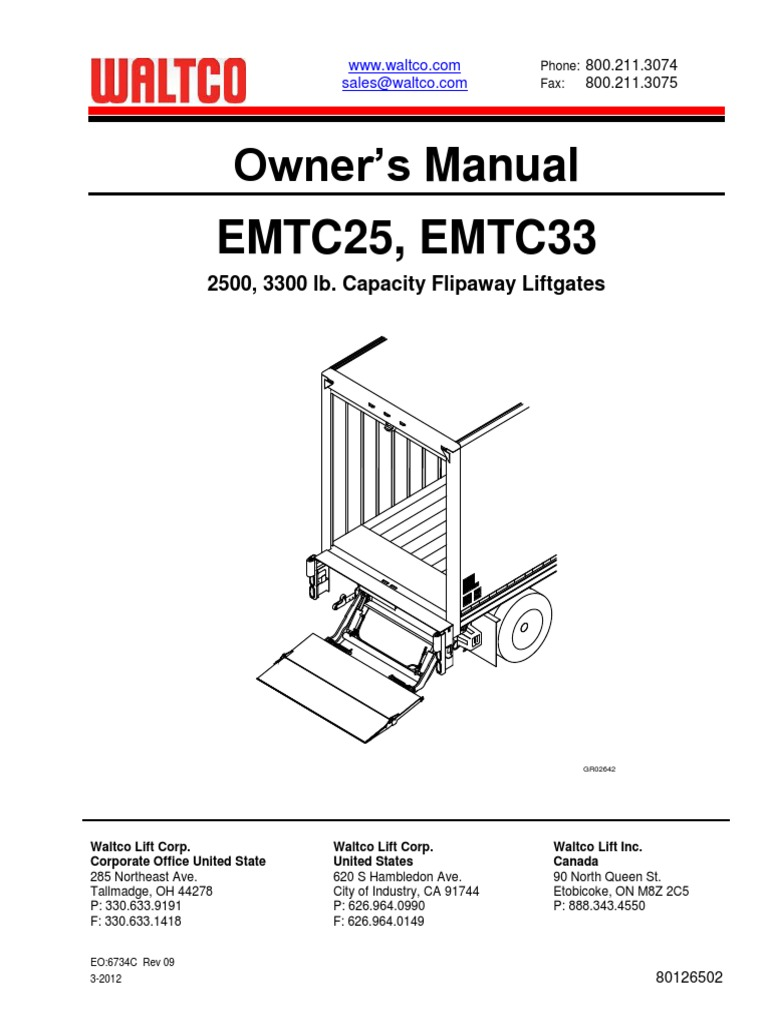 Waltco Hydraulic Pump Wiring Diagram Library Barnes For