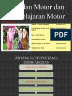 Kawalan motor dan pembelajaran motor