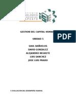 Unidad 5 Gestion Del Capital Humano