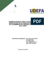 Normativa Trabajo de Ascenso Rev. Cu Ext 0126 2015