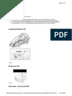 Land Rover LR3 Shop Manual VIN Identification Codes