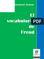 El Vocabulario de Freud - Assoun Paul Laurent