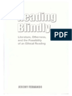 Jeremy Fernando - Reading Blindly