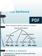 The Sentence -Powerpoint Presentation3