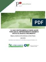 Lo que centroamerica puede hacer para que el emprendimiento dinamico apoye su nuevo crecimiento