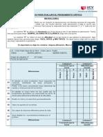 CUESTIONARIO PARA EVALUAR EL PENSAMIENTO CRÍTICO- VALIDAR.docx