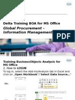 Delta Training BOA for MS Office