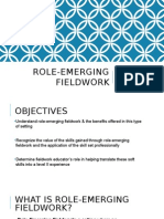 role-emerging fieldwork presentation  2