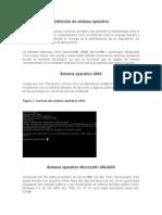 Tipos de Sistemas Operativos.
