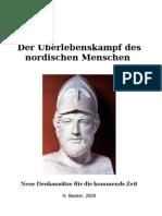 Der Überlebenskampf des nordischen Menschen (H. Becker)