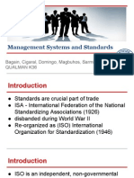 Management Systems and Standards