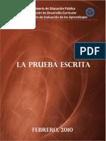 Prueba Escrita 2010-86201082919