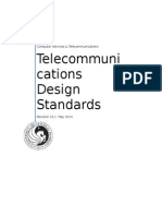 Design Standards for Telecommunications Rev. 10.1
