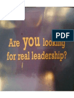 Third Coast Third Coast Leadership PAC GOTV Mailer