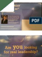 Third Coast Leadership PAC GOTV Mailer