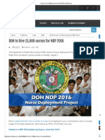 DOH to Hire 15,000 Nurses for NDP 2016 _ InfoNurses