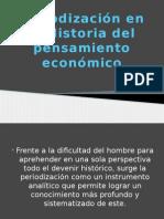 Periodización en La Historia Del Pensamiento Económico