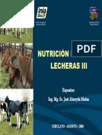 Nutricion Vacas Lecheras III