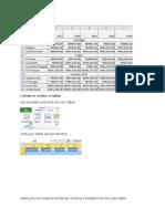 Job Sheet Excel