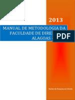 Manual de Metodologia Do Tcc Da Faculdade de Direito de Alagoas