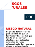 DIAPOSITIVAS RIESGOS NATURALES