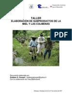 Subproductos de Miel y Colmenas