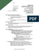 Sample Project Description SS14