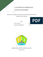 Formulasi Sediaan Semisolid Salep Gentamisin