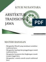 Arsitektur Tradisional Jawa - Presentasi