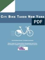 2014 Gordon Koven and Levenson Citi Bike Takes New York