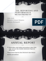 PSA Financial Reporting and Performance Measurement