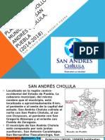 Plan de Desarrollo Municipal San Andrés Cholula