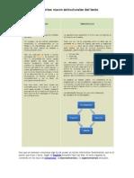 Elementos Macroestructurales Del Texto
