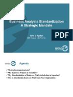 Business Analysis Presentation