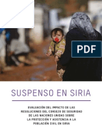 Suspenso en Siria