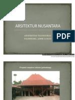Arsitektur Tradisional Palembang, Jambi & Riau - Presentasi.pdf