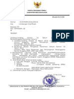 undangan klarifikasi kasus