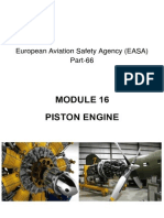 MODULE 16. PISTON ENGINE