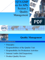 Section 2-Quality Management ISPE India