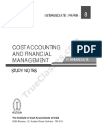Paper-8 Cost Accounting & Financial Mangement (Syllabus 2012).pdf