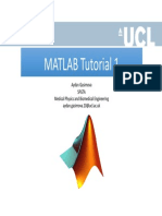 MATLAB Tutorial 1