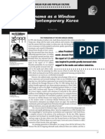 Cinema as a Window on Contemporary Korea
