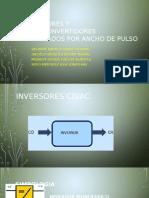 Inversores y Cicloconvertidores Controlados Por Ancho de Pulso - Expo