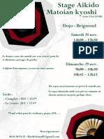 11/2015 Aikido Seminar Grenoble