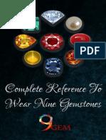 Complete Reference To Wear Nine Gemstones