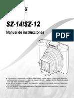 Manual Olympus SZ14