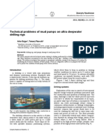 Technical problems of mud pumps on ultra deepwater  drilling rigs