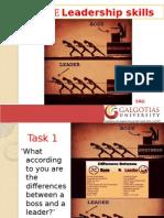 Effective Lehadership Skills 0108 2014.Ppt
