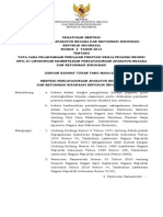 Permenpan 3 Th 2013 Juknis SKP Dilingkungan KEMENPAN