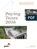 PwC - Etude Paying Taxes 2016 FINAL